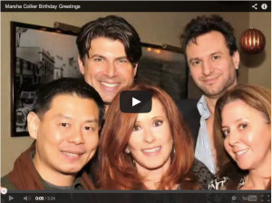 marsha collier birthday party youtube cover