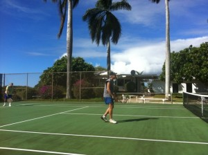 Ray at Kiahuna Tennis Dec 31 2011