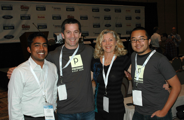 Posterous Executives with Linda Sherman October 15, 2010.