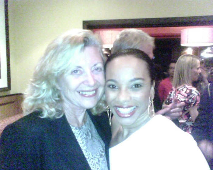 Linda Sherman with Debra Walton