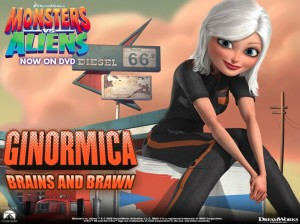 Monsters vs Aliens Rocking Role Model for Girls
