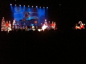 Brian Setzer Orchestra rocked it up at Gibson Amphitheatre Christmas Extravaganza