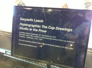 Hypergraphia by Gwyneth Leech