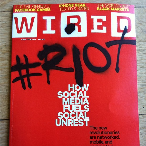 creative cover on Wired Magazine
