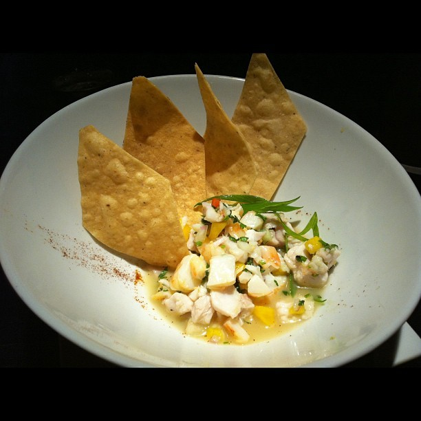 Ceviche at Tortilla Republic