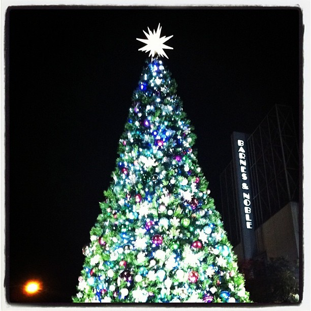 Christmas on the Santa Monica Promenade