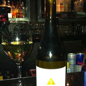 My Favorite Wine at Wokano is Artesa