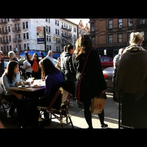 Always a Line for Weekend Brunch SaraBeths NYC UWS
