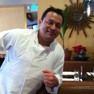 Executive chef Alex Padilla