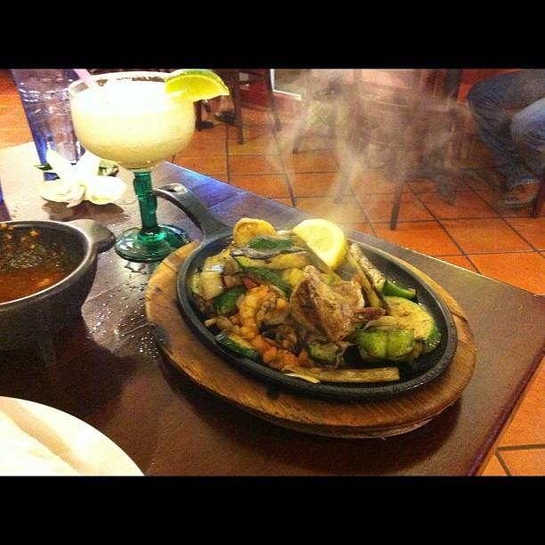 Seafood Fajitas at Monicos
