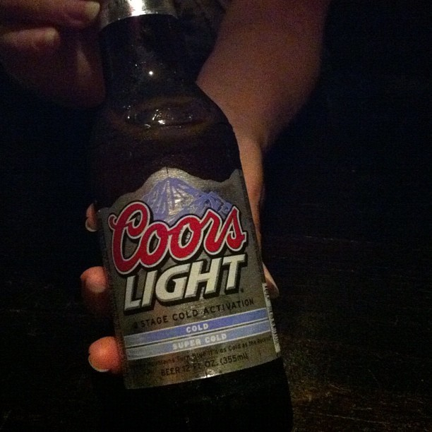 Selecting Coors Light Out of Respect