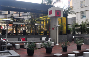 Station Hollywood Patio at W Hollywood Ray Gordon Photos