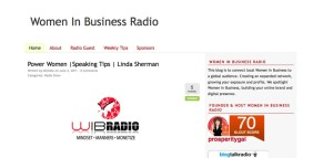 Linda Sherman Interviewed by Michele Price on Women in Business