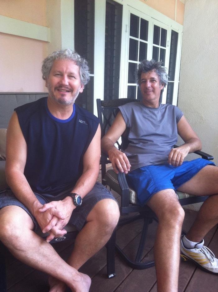 Kauai Beach Inn Proprietor Bob Kurtz with Ray Gordon