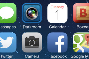 Free Darkroom app icon on iphone image by Linda Sherman
