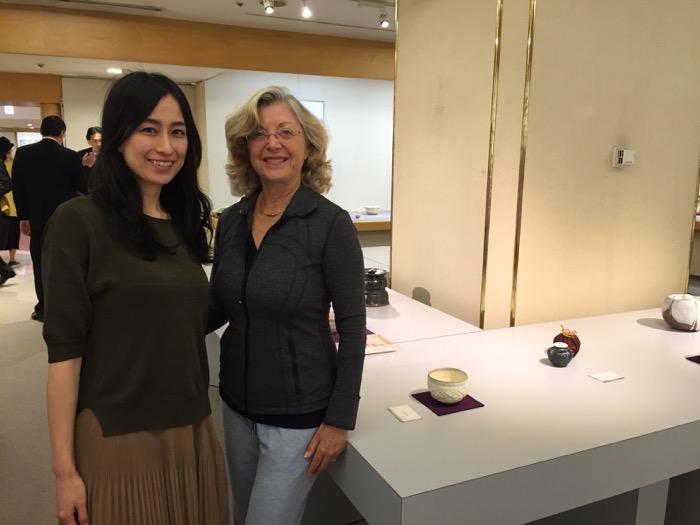 Linda Sherman with Ryoko Ishigaki