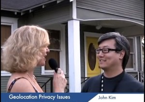 Linda Sherman interviewing Whrrl about Geolocation Privacy